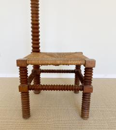 Charles Dudouyt CHARLES DUDOUYT SCULPTURAL FRENCH STOOL - 1979936