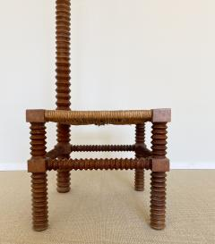 Charles Dudouyt CHARLES DUDOUYT SCULPTURAL FRENCH STOOL - 1979937