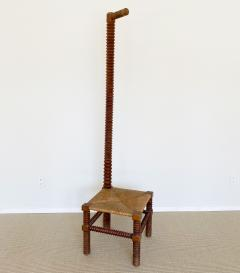 Charles Dudouyt CHARLES DUDOUYT SCULPTURAL FRENCH STOOL - 1979939