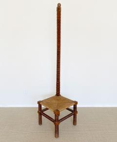 Charles Dudouyt CHARLES DUDOUYT SCULPTURAL FRENCH STOOL - 1979940