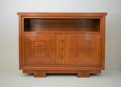 Charles Dudouyt Charles Dudouyt Oak Cabinet 1940 with Secret Space - 987725