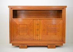 Charles Dudouyt Charles Dudouyt Oak Cabinet 1940 with Secret Space - 987726