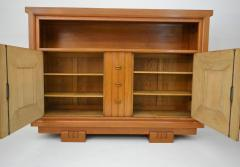 Charles Dudouyt Charles Dudouyt Oak Cabinet 1940 with Secret Space - 987727