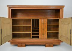 Charles Dudouyt Charles Dudouyt Oak Cabinet 1940 with Secret Space - 987728