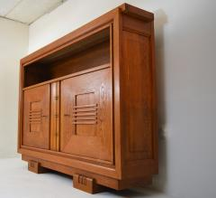 Charles Dudouyt Charles Dudouyt Oak Cabinet 1940 with Secret Space - 987730