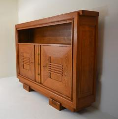 Charles Dudouyt Charles Dudouyt Oak Cabinet 1940 with Secret Space - 987732
