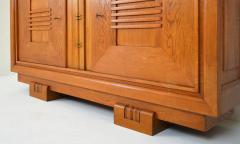 Charles Dudouyt Charles Dudouyt Oak Cabinet 1940 with Secret Space - 987733