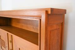 Charles Dudouyt Charles Dudouyt Oak Cabinet 1940 with Secret Space - 987735
