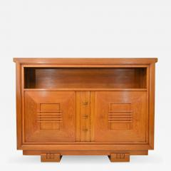Charles Dudouyt Charles Dudouyt Oak Cabinet 1940 with Secret Space - 989518