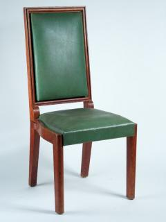 Charles Dudouyt Charles Dudouyt Set of Ten Dining Chairs - 1542015