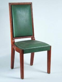 Charles Dudouyt Charles Dudouyt Set of Ten Dining Chairs - 1542062