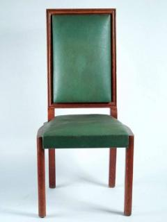 Charles Dudouyt Charles Dudouyt Set of Ten Dining Chairs - 1542064