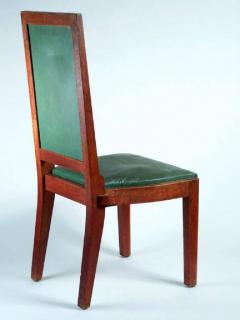 Charles Dudouyt Charles Dudouyt Set of Ten Dining Chairs - 1542065