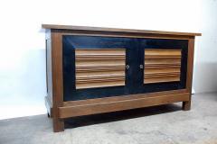 Charles Dudouyt Impressive Oak Sideboard by Charles Dudouyt for La Gentilhommie re - 874937