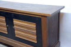 Charles Dudouyt Impressive Oak Sideboard by Charles Dudouyt for La Gentilhommie re - 874938