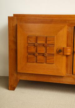 Charles Dudouyt Large oak sculpted front sideboard by Charles Dudouyt - 1454228