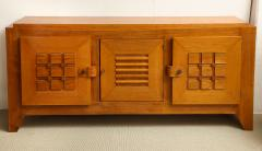 Charles Dudouyt Large oak sculpted front sideboard by Charles Dudouyt - 1454239