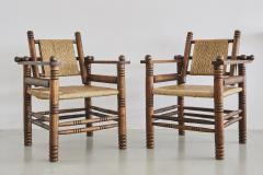 Charles Dudouyt Pair of Charles Dudouyt Chairs - 409087