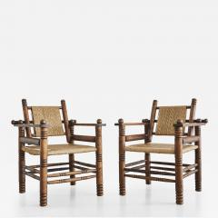 Charles Dudouyt Pair of Charles Dudouyt Chairs - 410168