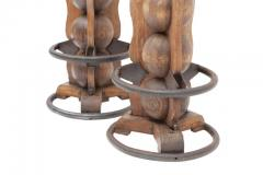 Charles Dudouyt Pair of Charles Dudouyt Stools - 446762