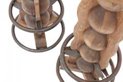 Charles Dudouyt Pair of Charles Dudouyt Stools - 446763