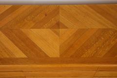 Charles Dudouyt Three door oak chest - 1165286