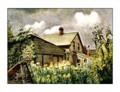 Charles E Burchfield August Morn - 283028