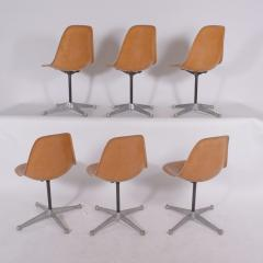 Charles Eames Charles Eames Six PSC chairs for Herman Miller - 941260