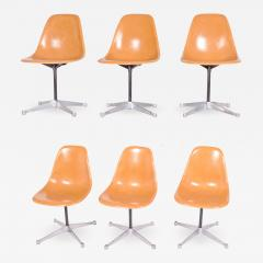 Charles Eames Charles Eames Six PSC chairs for Herman Miller - 954507