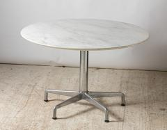Charles Eames Charles Eames for Knoll round Segmented dining table circa 1964 - 1939712
