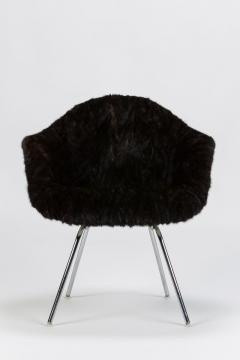 Charles Eames Eames Armchair covered with high quality fur - 1720089