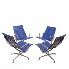 Charles Eames Four Aluminium Group Chairs by Charles Eames for Herman Miller sold individually - 1026965