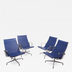 Charles Eames Four Aluminium Group Chairs by Charles Eames for Herman Miller sold individually - 1042154