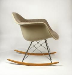 Charles Eames Rocking Chairs by Charles Eames for Herman Miller with Alexander Girard Textile - 983083