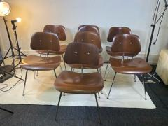 Charles Eames SUITE OF MID CENTURY SEVEN CHARLES EAMES DINING CHAIRS FOR HERMAN MILLER - 1606589