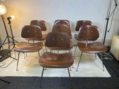 Charles Eames SUITE OF MID CENTURY SEVEN CHARLES EAMES DINING CHAIRS FOR HERMAN MILLER - 1606590