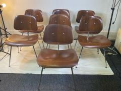 Charles Eames SUITE OF MID CENTURY SEVEN CHARLES EAMES DINING CHAIRS FOR HERMAN MILLER - 1606591
