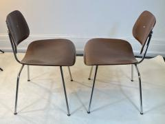 Charles Eames SUITE OF MID CENTURY SEVEN CHARLES EAMES DINING CHAIRS FOR HERMAN MILLER - 1609421