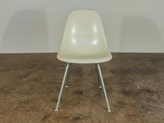 Charles Eames Vintage White Eames Shell Chairs - 752260