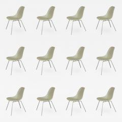 Charles Eames Vintage White Eames Shell Chairs - 752933