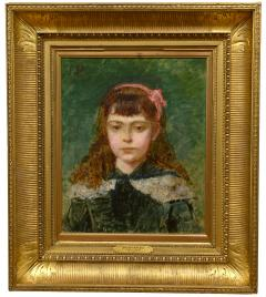 Charles Emile Carolus Duran Girl with a Pink Bow - 1184224