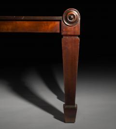 Charles Heathcote Tatham Early 19th Century Regency Mahogany Bedroom Bench - 1007111