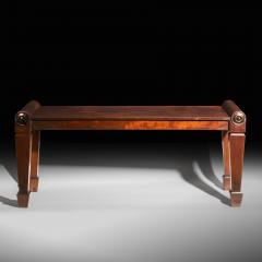 Charles Heathcote Tatham Regency Hall Bench or Long Stool - 978819