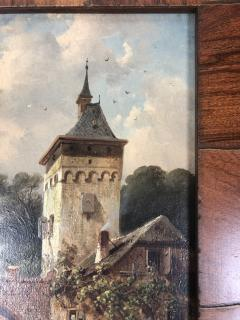 Charles Henri Leikert Charles Henri Leikert Period Village Scene - 1315676