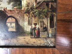 Charles Henri Leikert Charles Henri Leikert Period Village Scene - 1315677