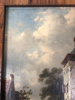 Charles Henri Leikert Charles Henri Leikert Period Village Scene - 1315678