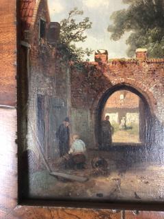 Charles Henri Leikert Charles Henri Leikert Period Village Scene - 1315679