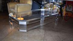 Charles Hollis Jones 1965 Lucite Coffee Table by Charles Hollis Jones - 1024425