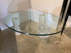 Charles Hollis Jones American Modern Lucite and Glass Coffee Table Charles Hollis Jones - 1878113
