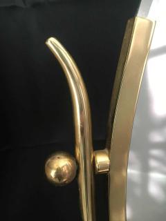 Charles Hollis Jones Charles Hollis Jones Brass Wishbone Vanity Mirror - 1738049